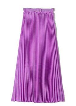 f83fa14d07 CBTLVSN Women's Casual High Waist Solid Color Chiffon Pleated A-Line Maxi  Long Skirt