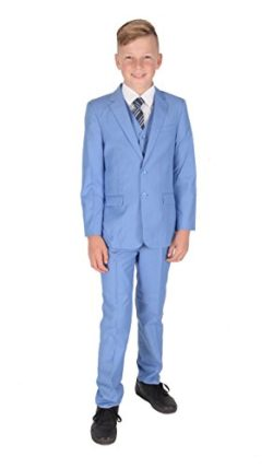 Romario Boys Navy Suit Prom Suit Boys Wedding Suit 3-6m to 14 Years Page Boy Suit