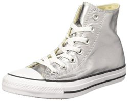 Converse Womens CTAS Metallics Hi High Top Trainers