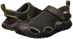 Crocs Men's Swiftwater Mesh Deck Sandal Sport espresso