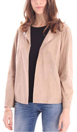 DESABeige Jacket in Suede Shirt Model, Womens.