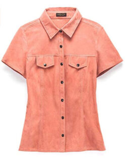 D&F Officer Suede Button Up