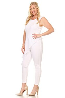 f301cc9b10d White Plus Size Jumpsuits for Women Board by Fashion for Women & Men ...