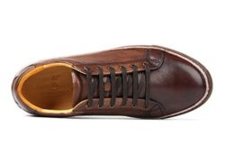 ICEGREY Men's Leather Sneaker Round Toe Casual Shoes