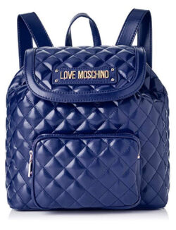 Love Moschino Women's Quilted Nappa Pu Backpack Handbag