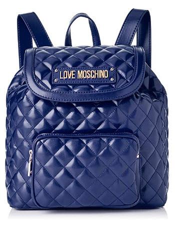 Love Moschino Women's Quilted Nappa Pu Backpack Handbag