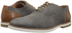 Madden Men's M-Fantom Oxford grey suede
