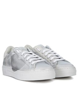 Nira Rubens Women's Martini Cloud Leather and Diamond Heart Sneaker