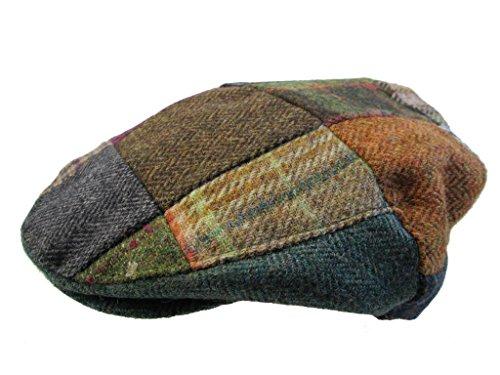 d9f32ea9f32c1 Patchwork Flat Cap Irish Tweed Made in Ireland John Hanly   Co ...