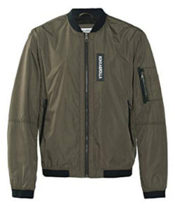 Rokka&Rolla Men's Lightweight Water Resistant Quick Dry Military Classic Flight Bomber ...