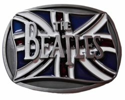 The BEATLES British Flag Metal BELT BUCKLE With Enamel Finish by Main Street 24/7