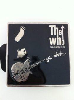 The Who Maximum R n B Music Band Belt Buckle