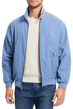 Weatherproof Garment Co. Men's Classic Golf Jacket, capri blue